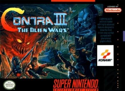 Contra Iii The Alien Wars Snes Rom Free Download