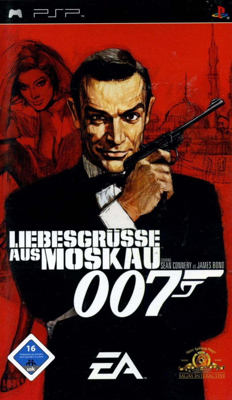 From Russia With Love 007 Psp Rom Iso Download