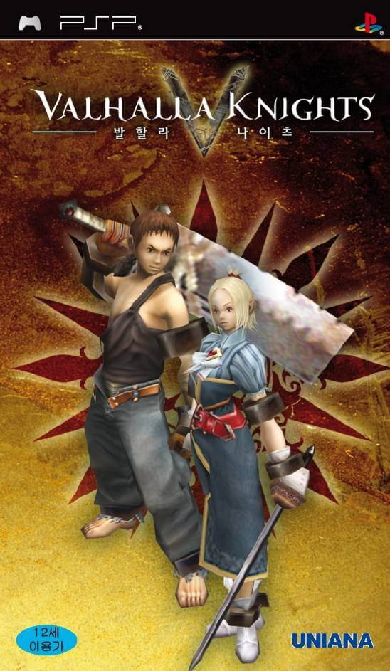 Valhalla Knights Psp Rom Iso Download