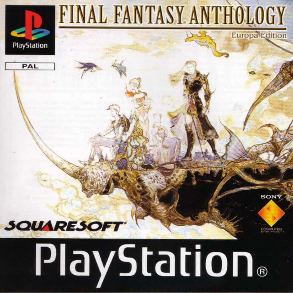 Final Fantasy Anthology European Edition Psx Rom Iso Playstation 1 Game Download
