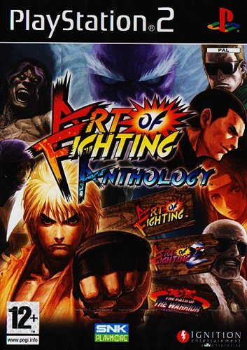 Art Of Fighting Anthology Ps2 Rom Iso Playstation 2 Game