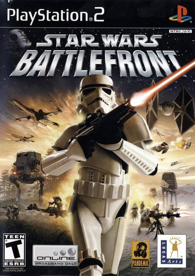Star Wars Battlefront Ps2 Rom Iso Playstation 2 Game