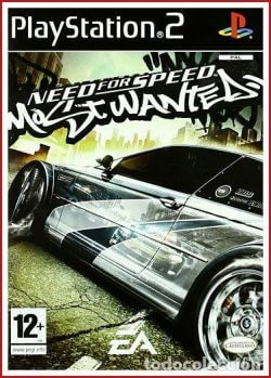Need For Speed Most Wanted Ps2 Rom Iso Playstation 2 Game