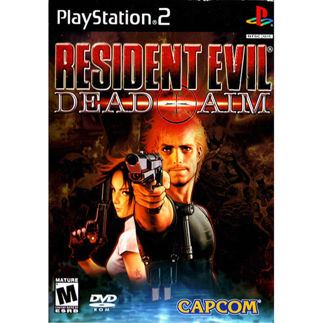 Resident Evil Dead Aim Ps2 Iso Playstation 2 Roms