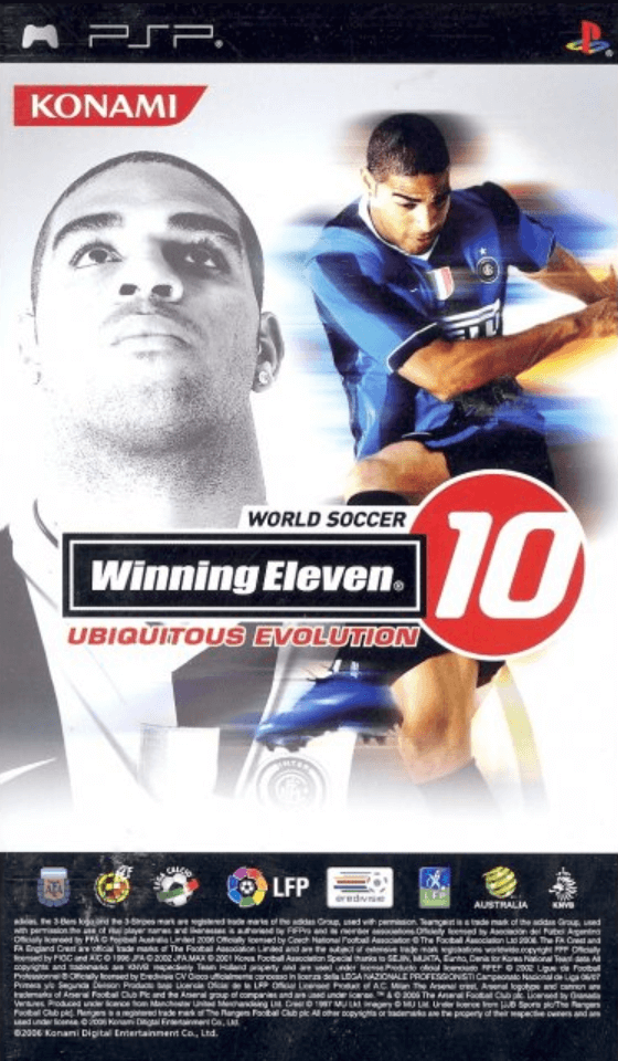 World Soccer Winning Eleven 10 Ubiquitous Edition Psp Rom Iso Download