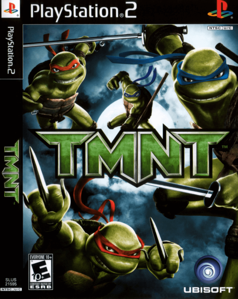 Tmnt Ps2 Rom Iso Playstation 2 Game