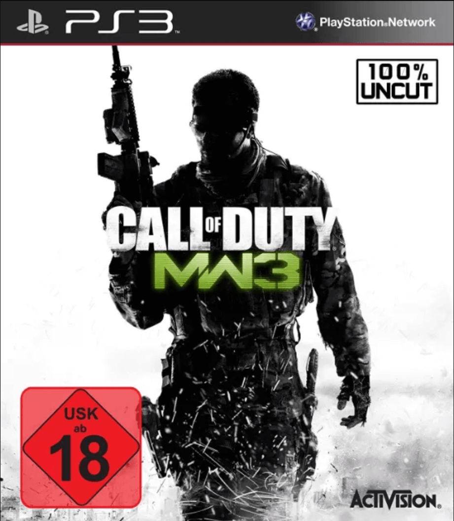 Call Of Duty Modern Warfare 3 Ps3 Iso Rom Playstation 3 Game