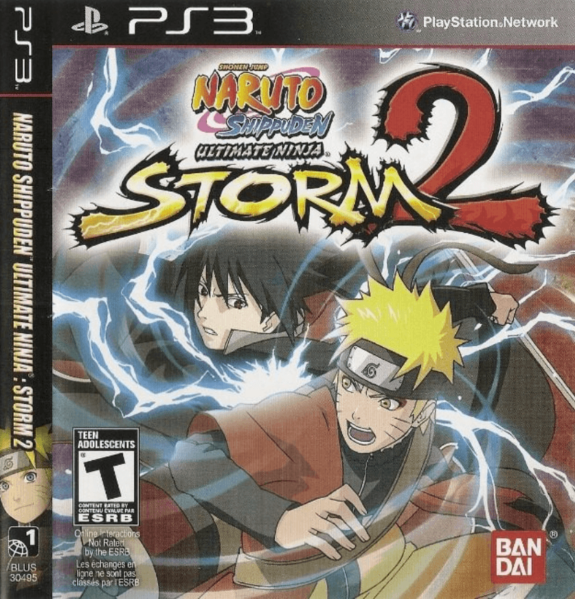 Naruto Shippuden: Ultimate Ninja Storm 2 - PS3 ISO - Playstation 3 ROMS