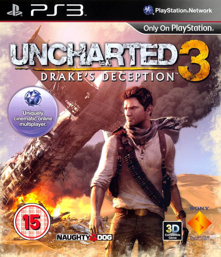 Uncharted 3 Drake S Deception Ps3 Rom Iso Playstation 3 Game
