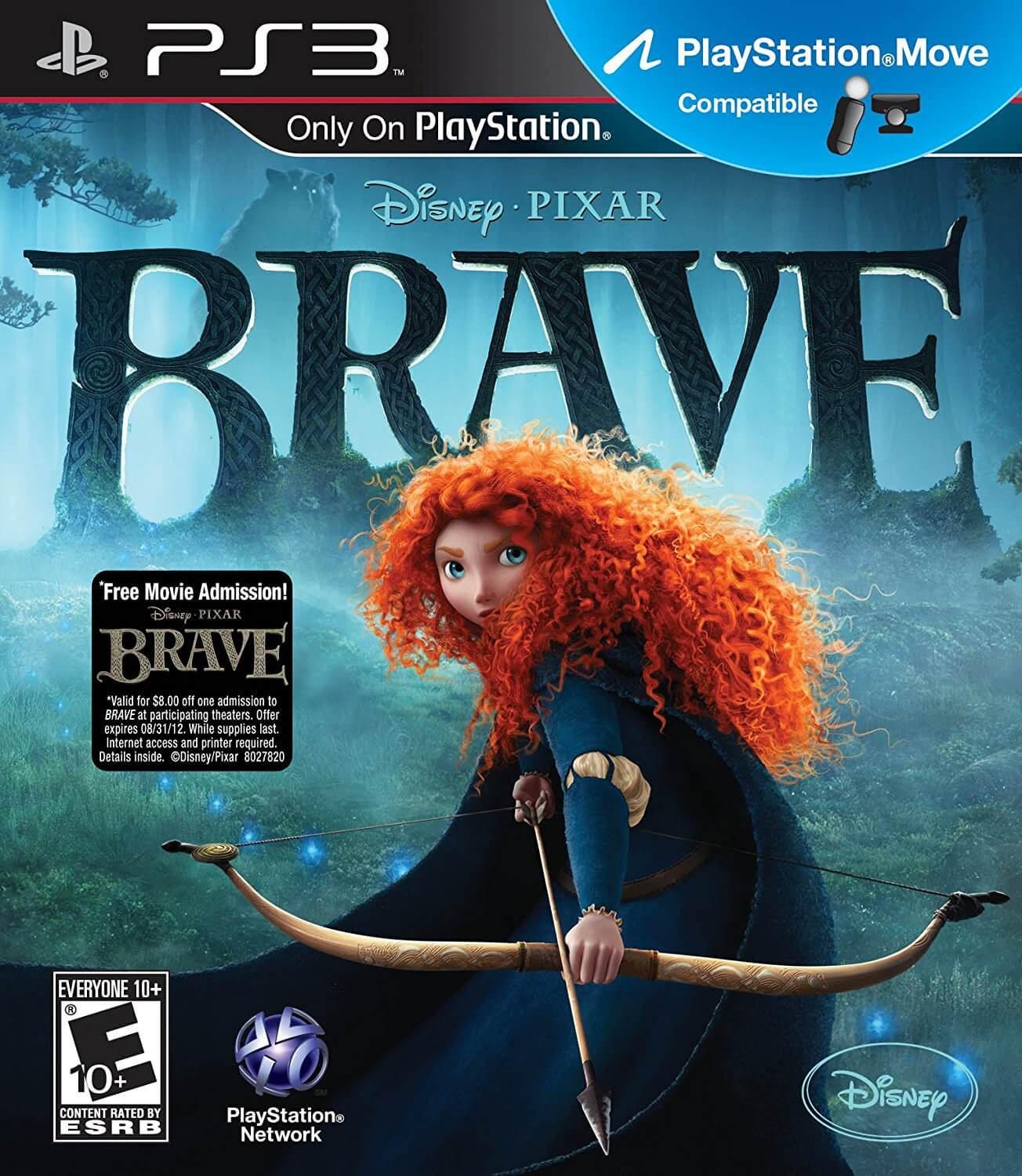 Brave The Video Game Ps3 Iso Rom Playstation 3 Game Download