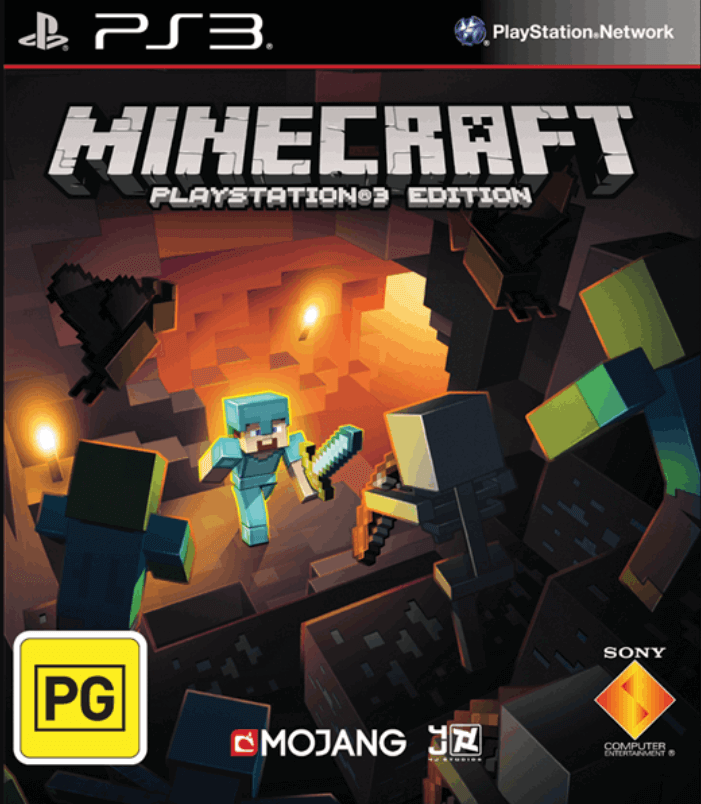 Minecraft - PS3 ROM & ISO - Playstation 3 Game Download