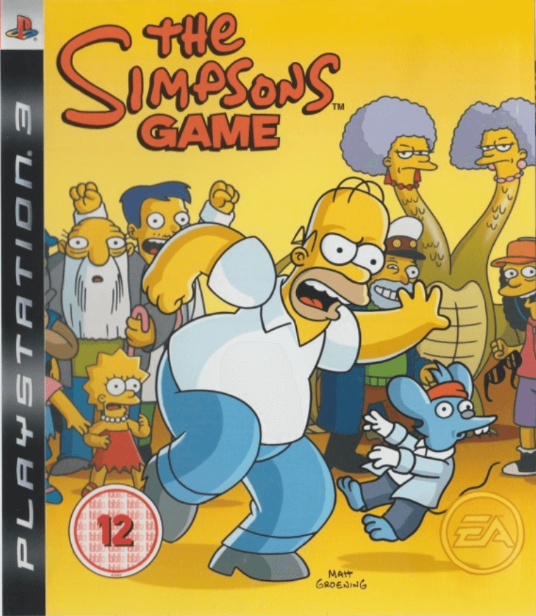 The Simpsons Game Ps3 Iso Playstation 3 Roms