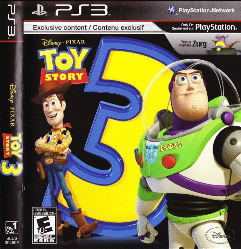 Toy Story 3 The Video Game Ps3 Iso Playstation 3 Roms
