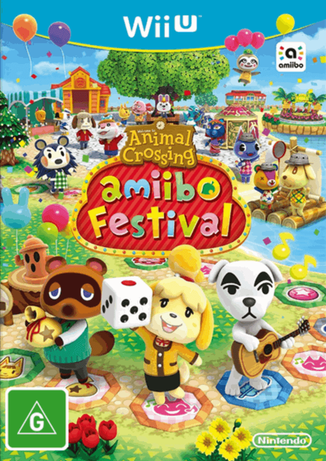 Animal Crossing Amiibo Festival Wiiu Rom Iso Nintendo Wiiu