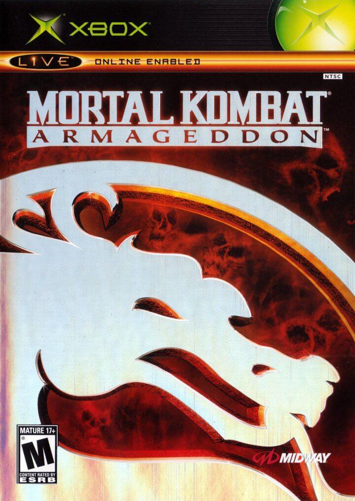 Carátula de Mortal Kombat - Armageddon para Xbox