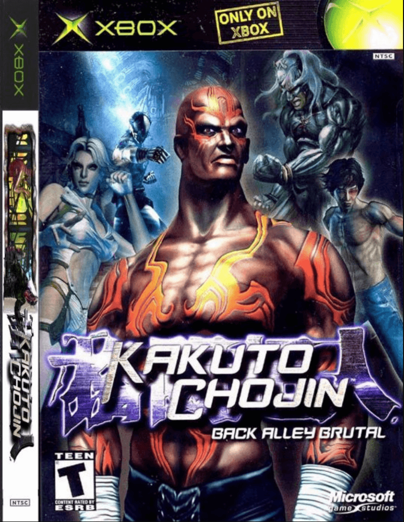 Kakuto Chojin Back Alley Brutal Rom Iso Xbox Game Download