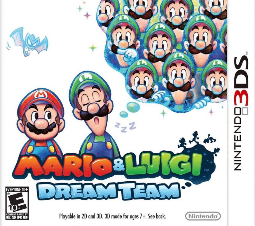 Mario Luigi Dream Team 3ds Rom Cia Free Download