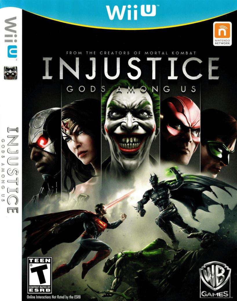 Injustice Gods Among Us Wiiu Rom Iso Nintendo Wiiu Download