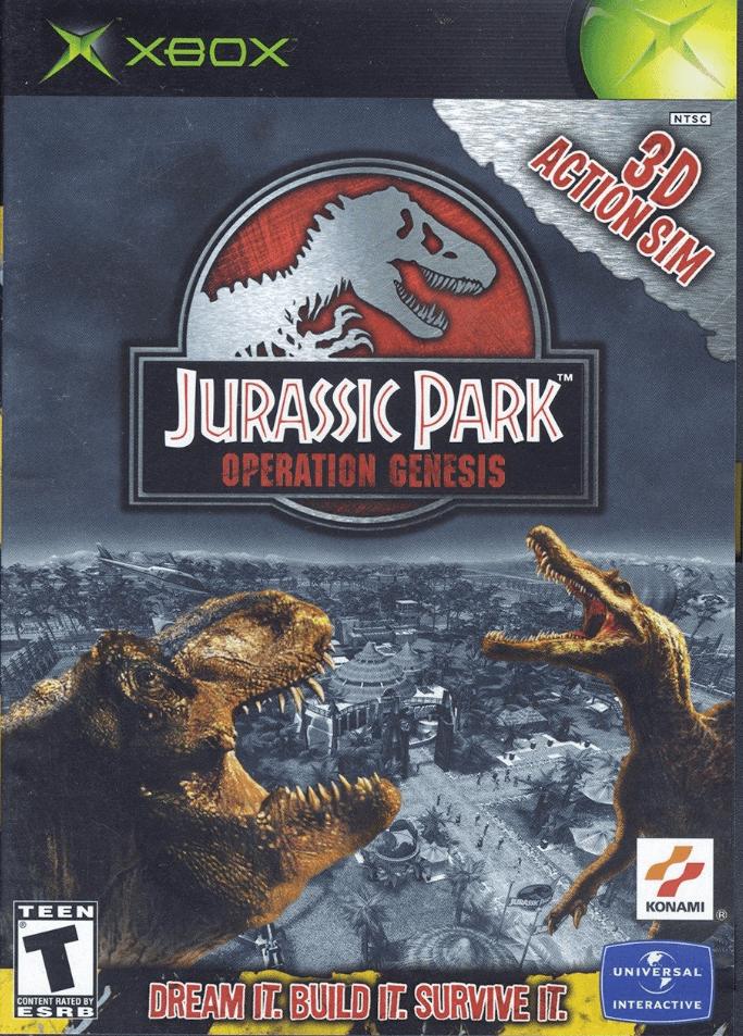 Jurassic park operation genesis ps2 iso ntsc