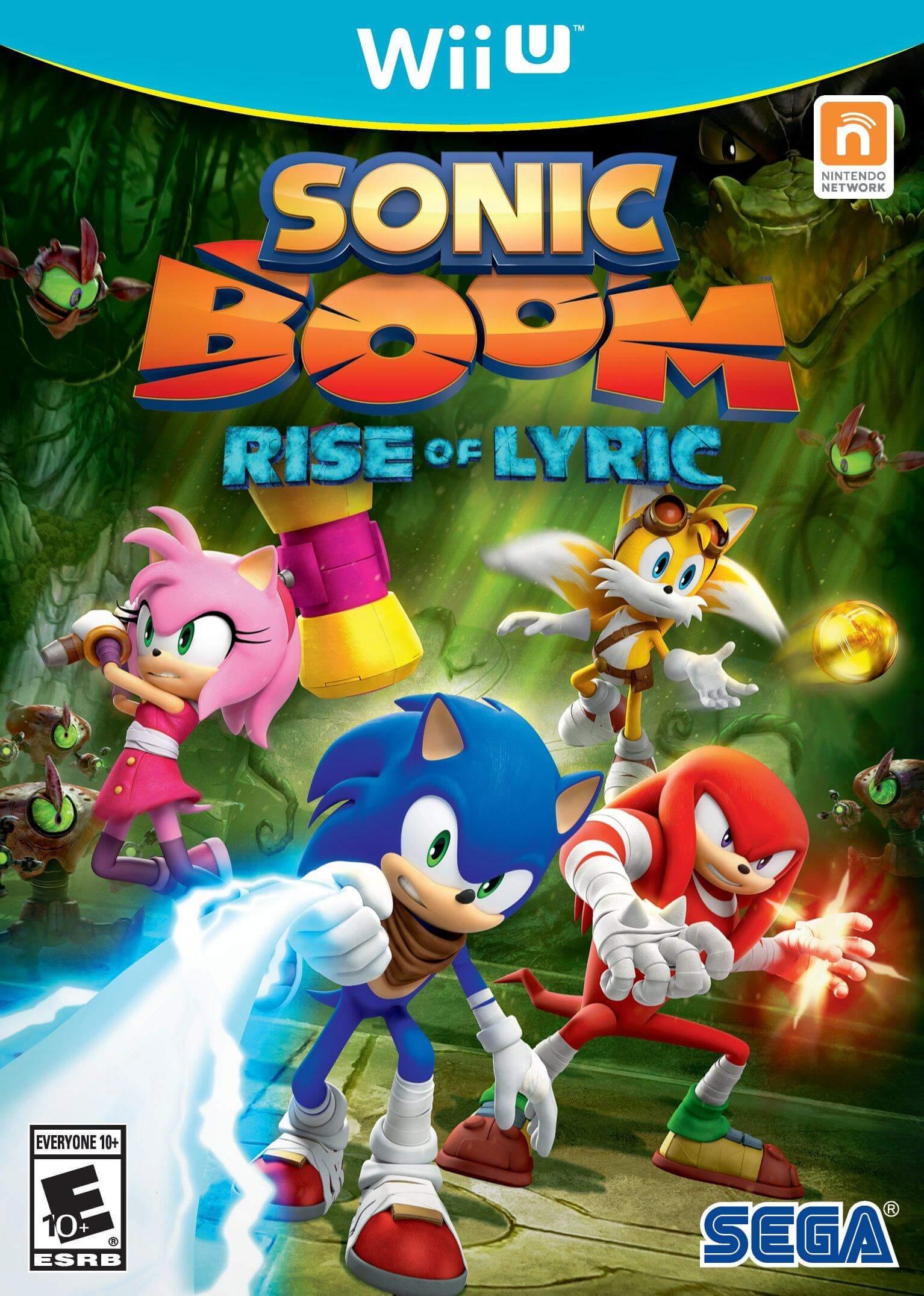 Sonic Boom Rise Of Lyric Wiiu Rom Iso Nintendo Wiiu Download
