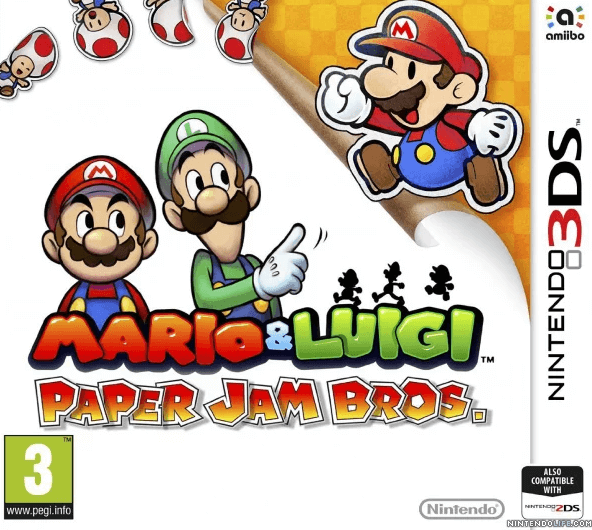 Mario Luigi Paper Jam 3ds Rom Cia Free Download