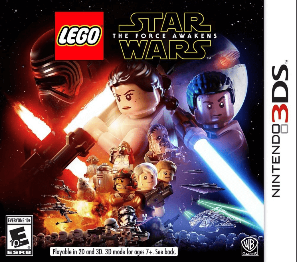 Lego Star Wars The Force Awakens 3ds Rom Cia Free Download