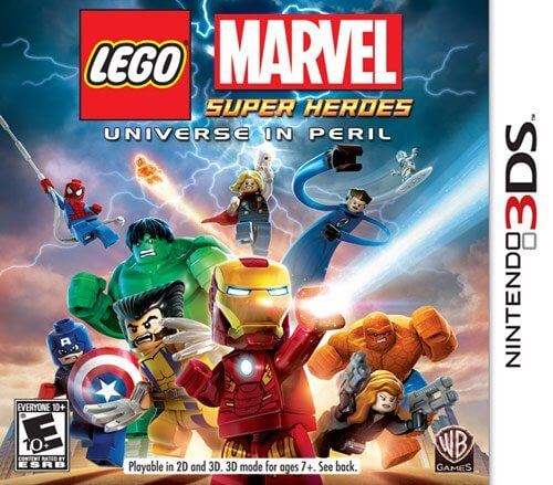 Lego Marvel Super Heroes Universe In Peril 3ds Rom Cia Free Download