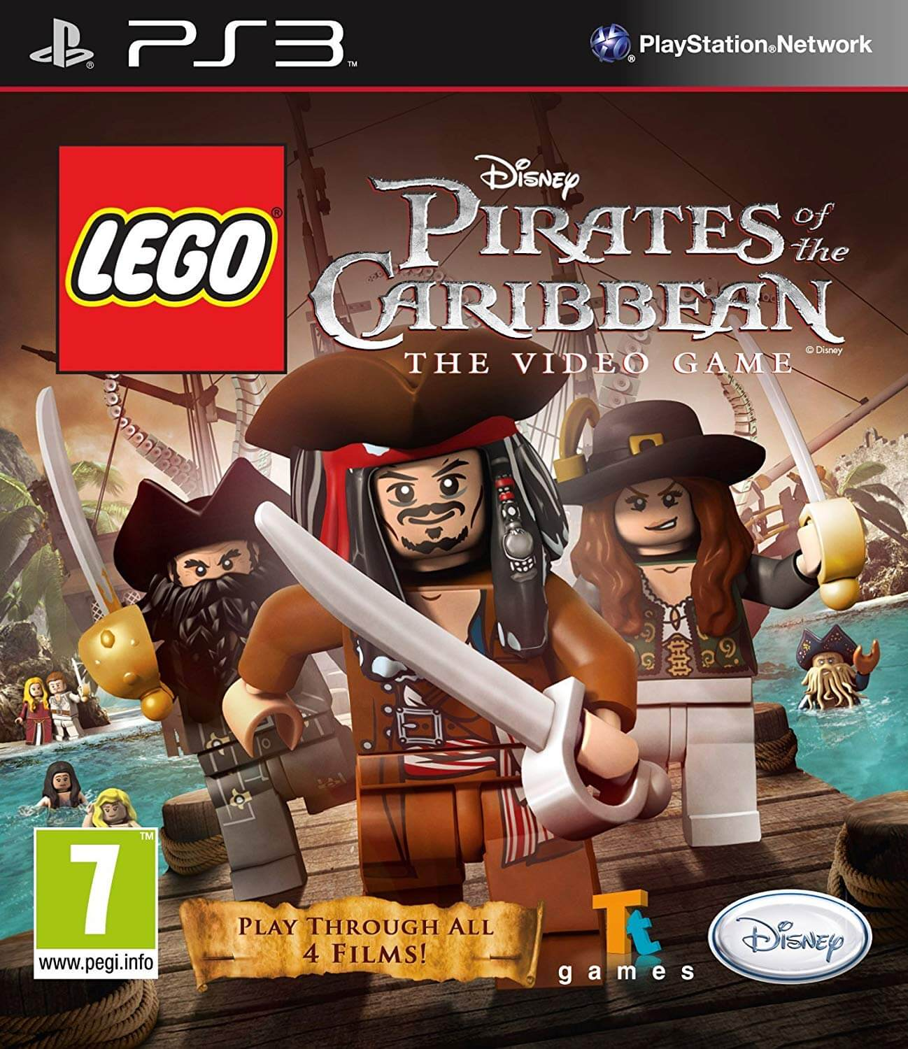Lego Pirates Of The Caribbean Ps3 Iso Rom Playstation 3 Download