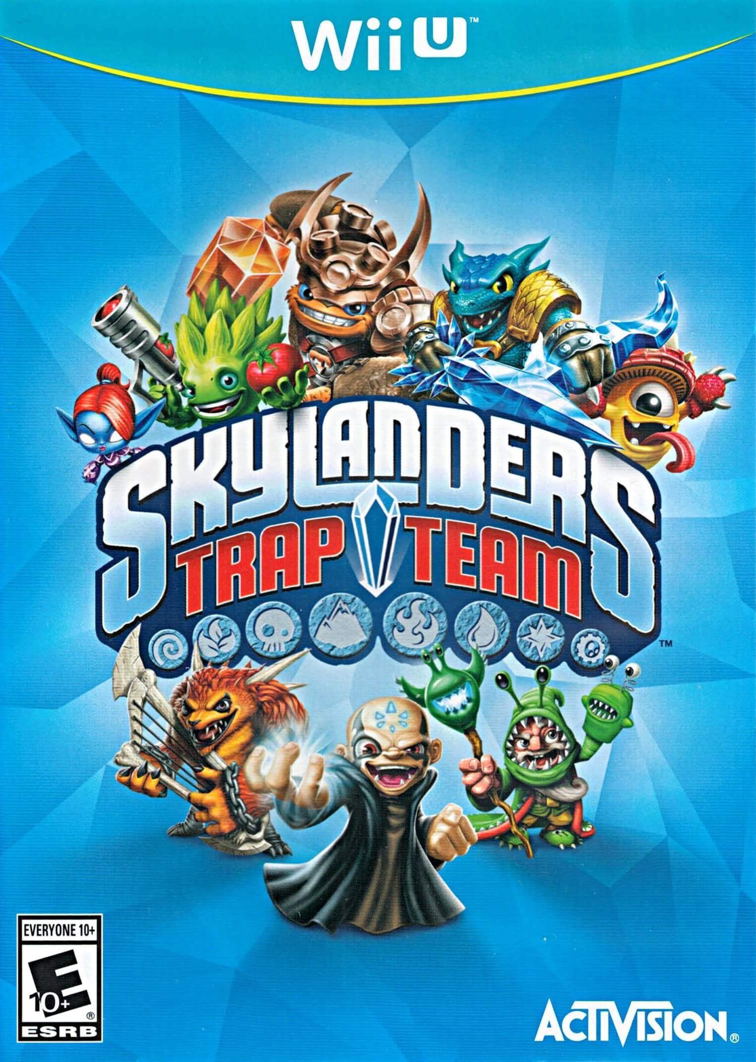Skylanders Trap Team Wiiu Rom Iso Nintendo Wiiu Download