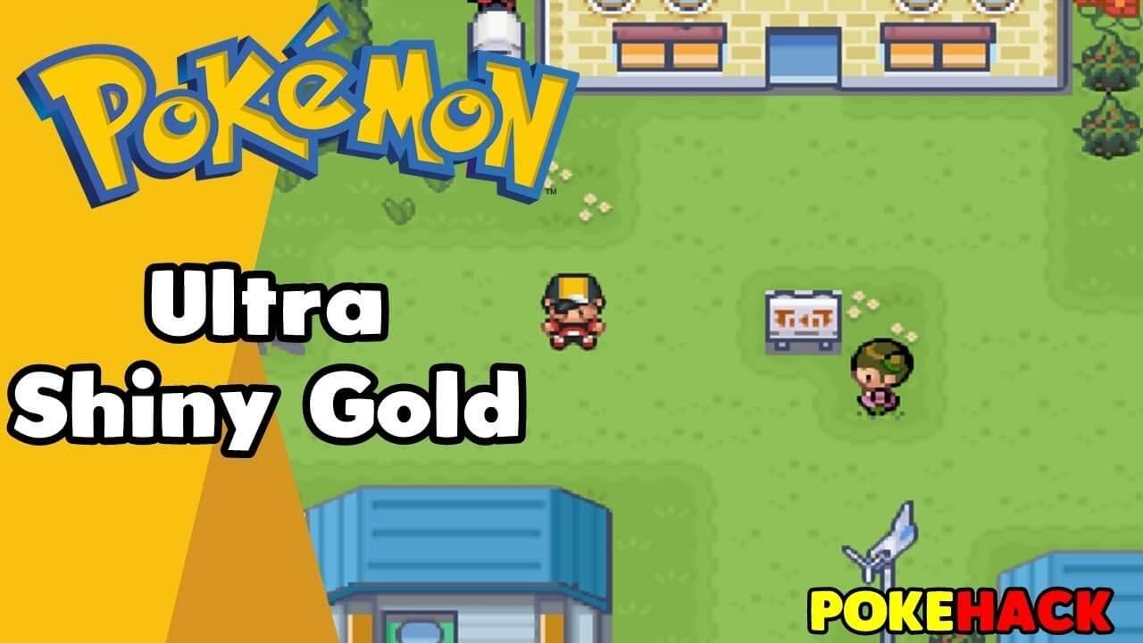 Pokemon Ultra Shiny Gold Sigma Pokemon Fire Red Hack Gba Rom