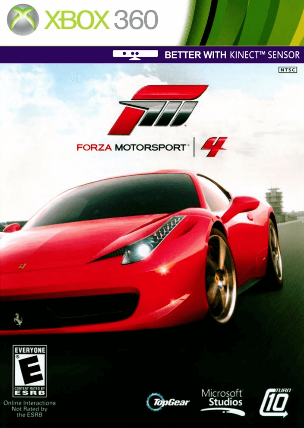 Forza Motorsport 4 Goty Editon Iso Jtag Xbox 360 Download