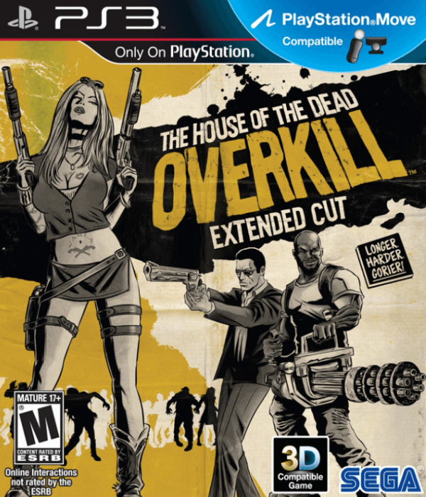 The House Of The Dead Overkill Extended Cut Ps3 Rom Iso Download